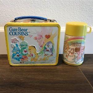 Handbags - Care bear cousins metal lunch box purse